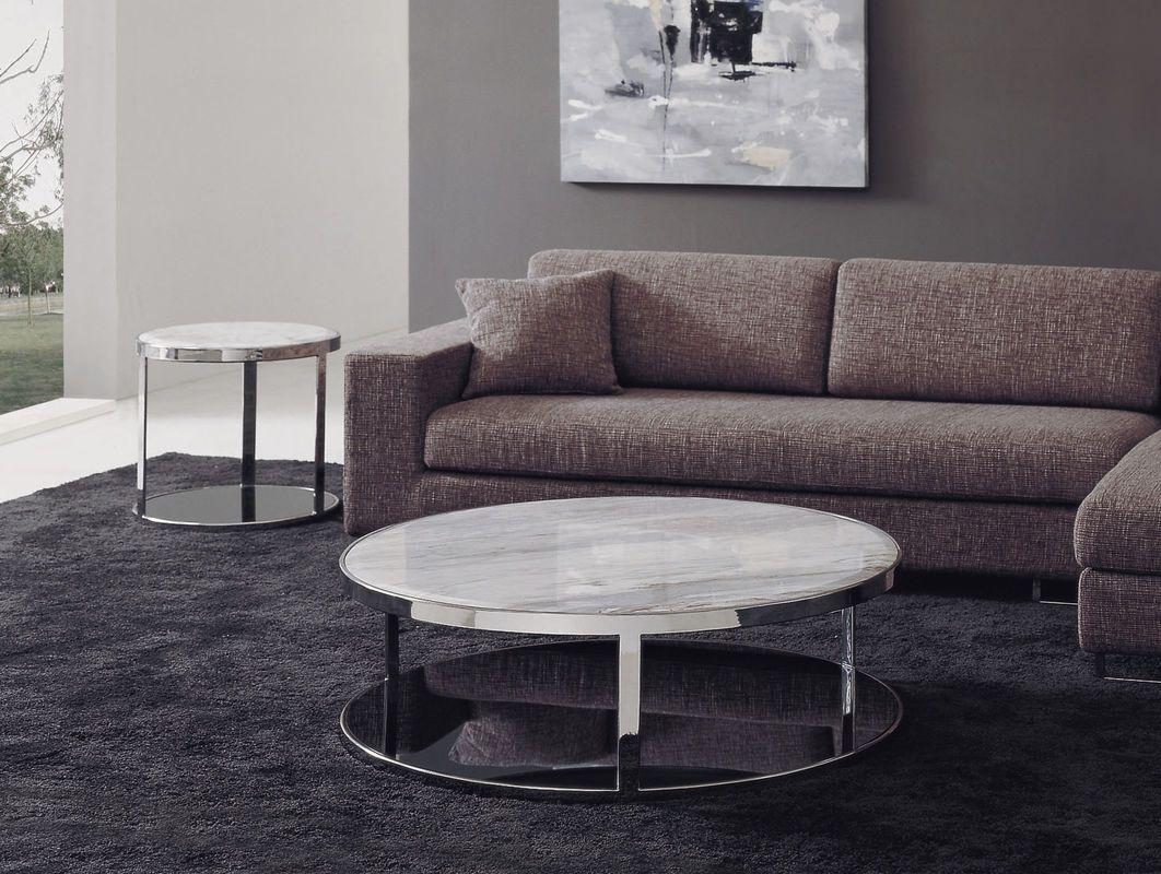 Cómo Elegir La Mesa Auxiliar Del Salón  Marble Top Coffee Table Cool Living Room Table Decorating Inspiration