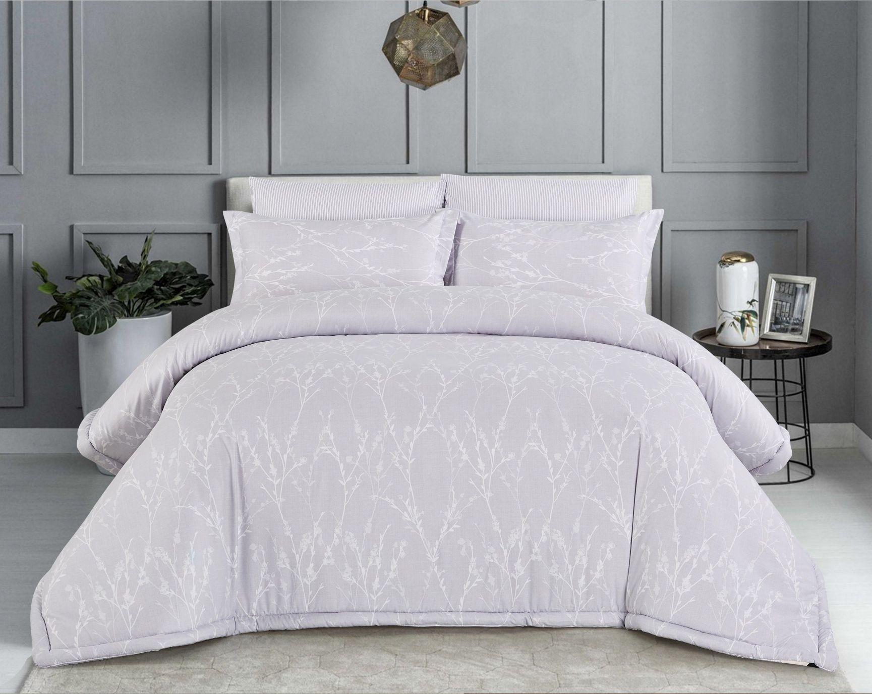طقم لحاف Stacy مزدوج 6 قطع Home Decor Furniture Bed