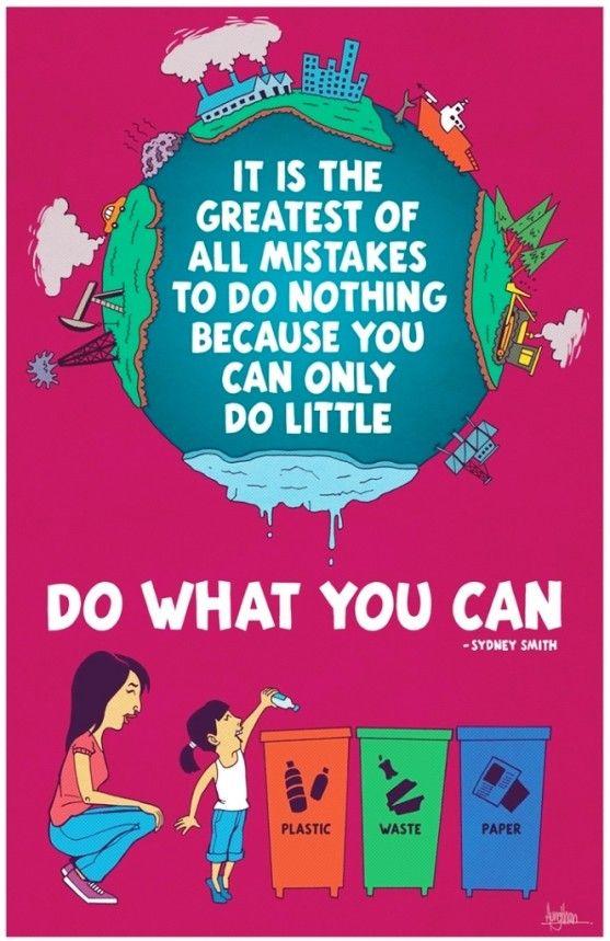 33 Contoh Poster Adiwiyata Go Green Lingkungan Hidup Hijau Save