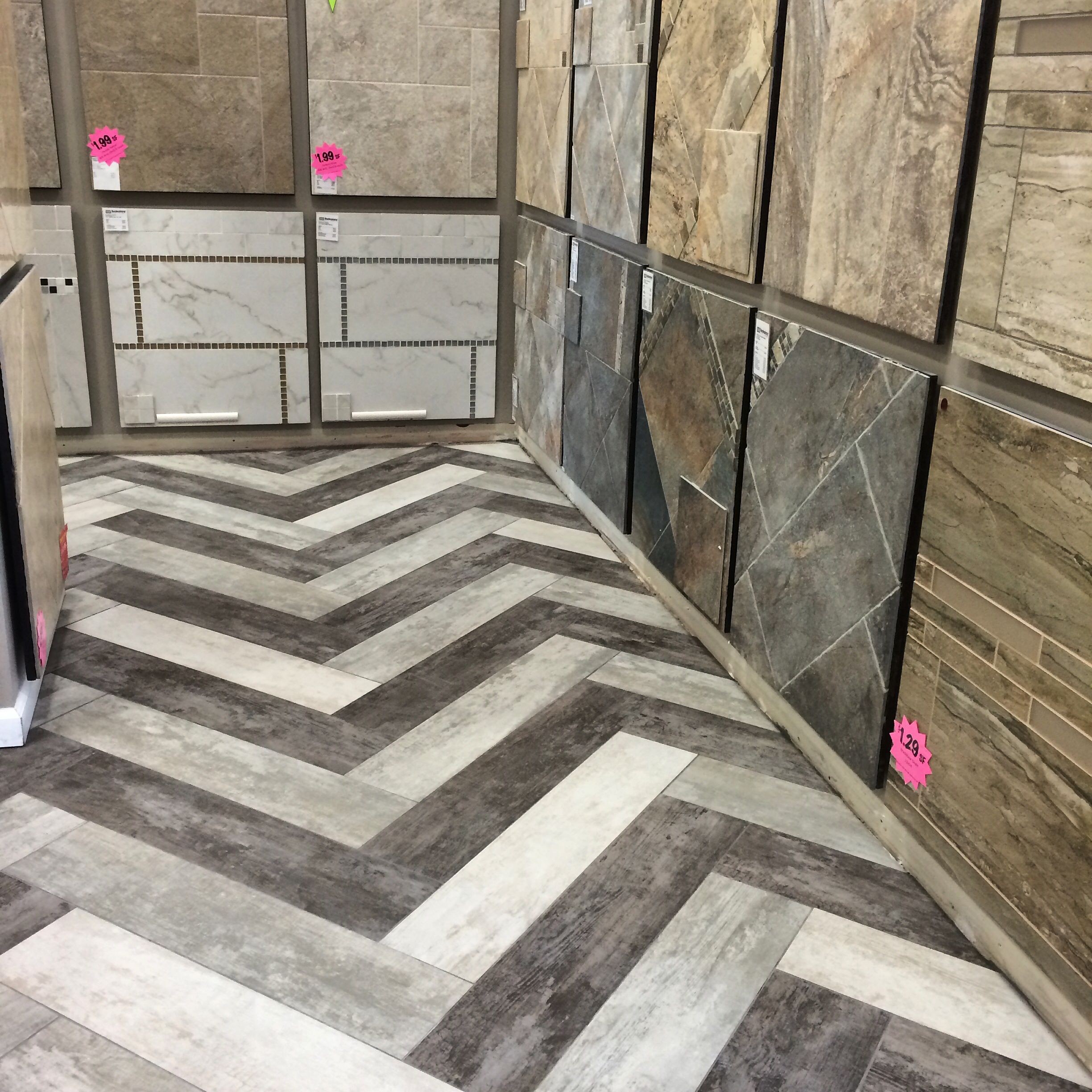 Bedrosians New Vintage Porcelain Tile Shown Here In Our
