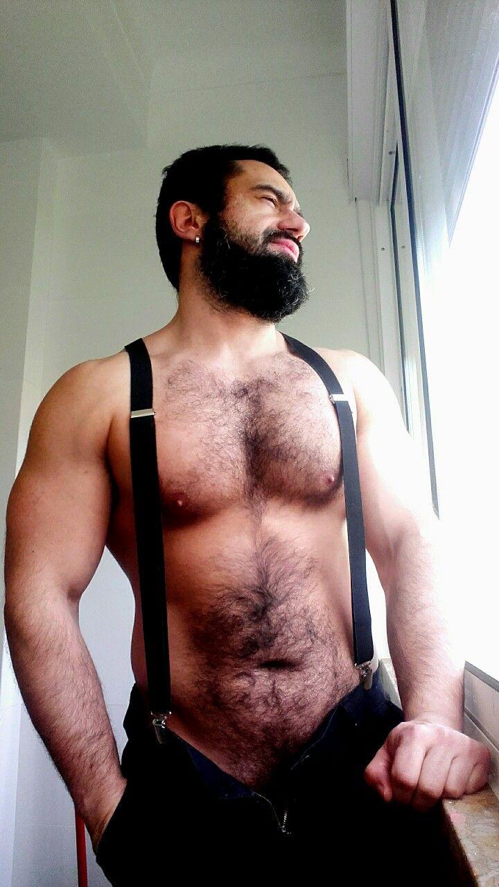 Hairy muscle worship