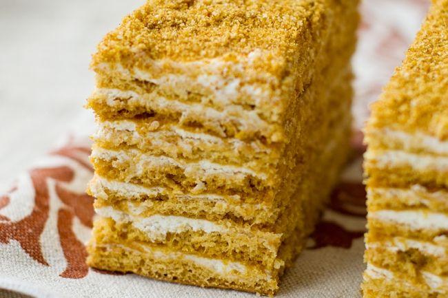 Советская классика: торты и пирожные