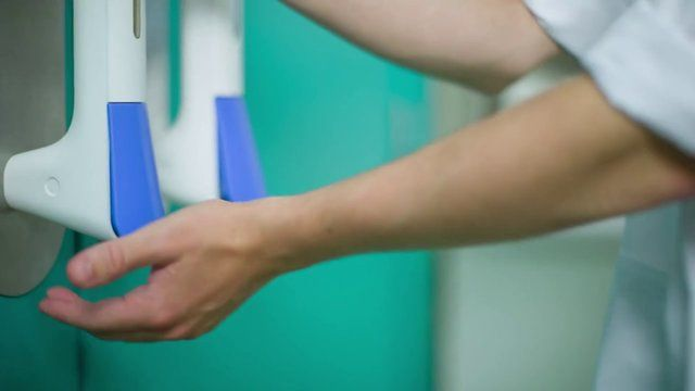 The Pullclean Handle Turns The Door Handle Into A Place To Clean