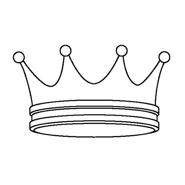 Simple Design Prince Crown Coloring Pages Netart Princess Coloring Pages Coloring Pages Coloring Pages For Kids