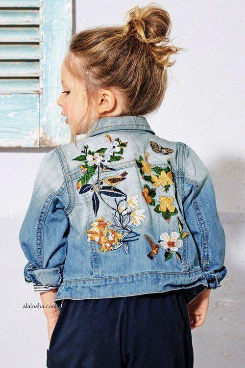 0df2906123e83 15 idées pour customiser une veste en jean