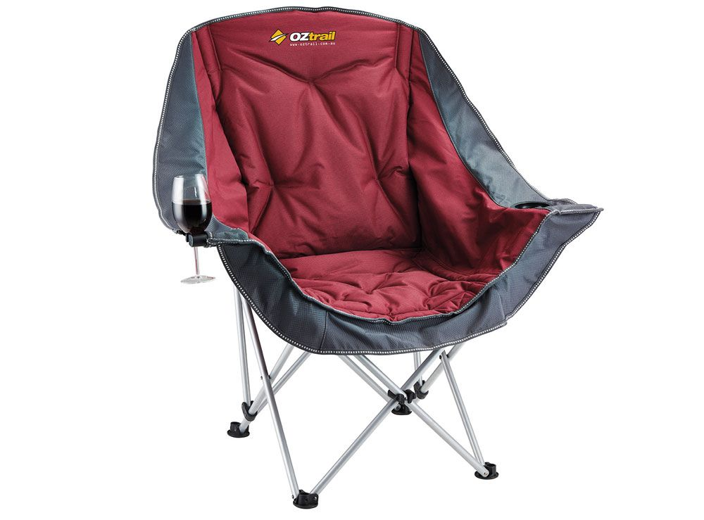 Delightful Oztrail Moon Chair   Camping Chairs   Getaway Magazine