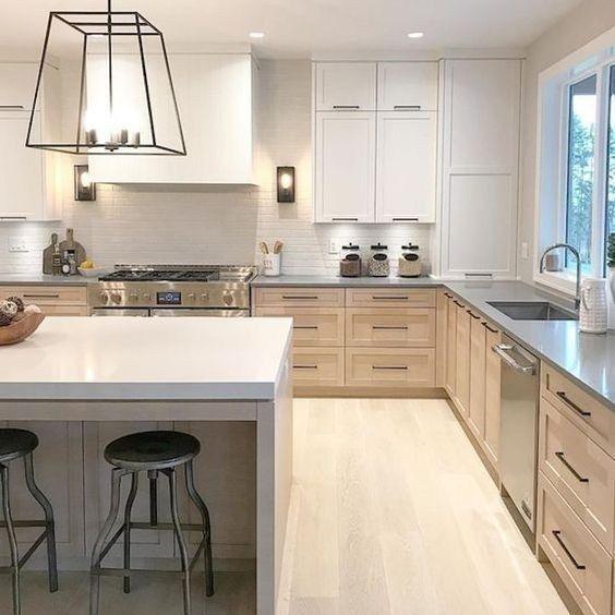 32+ The Lost Secret of Beautiful Modern Wood Kitchen Cabinet Designs - casitaandmanor #modernwoodkitchen