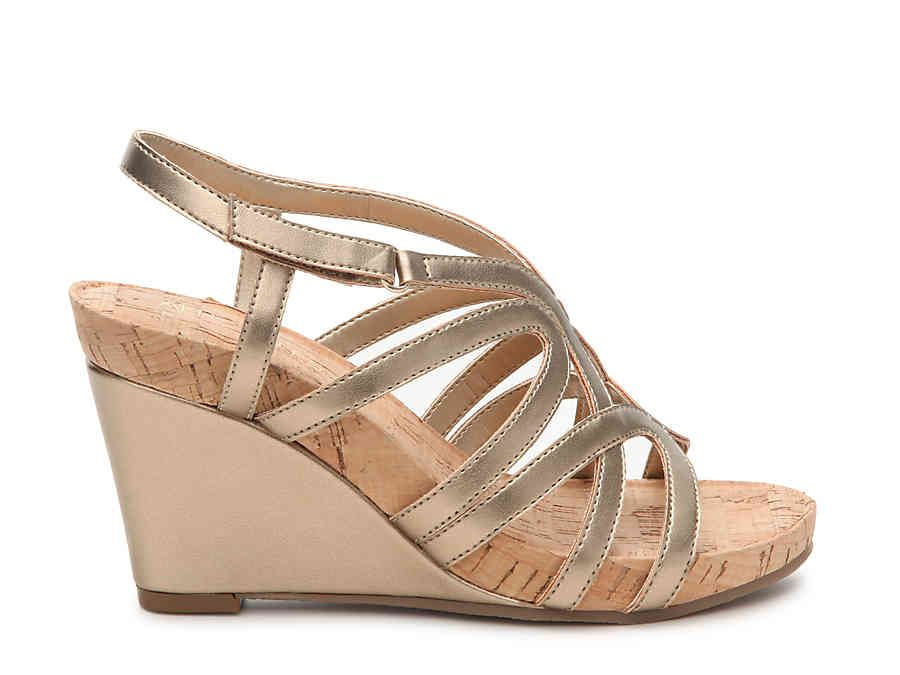 Aerosoles Lux Plush Wedge Sandal