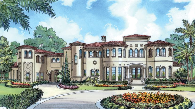 Mediterranean Home Plans Style Designs From
