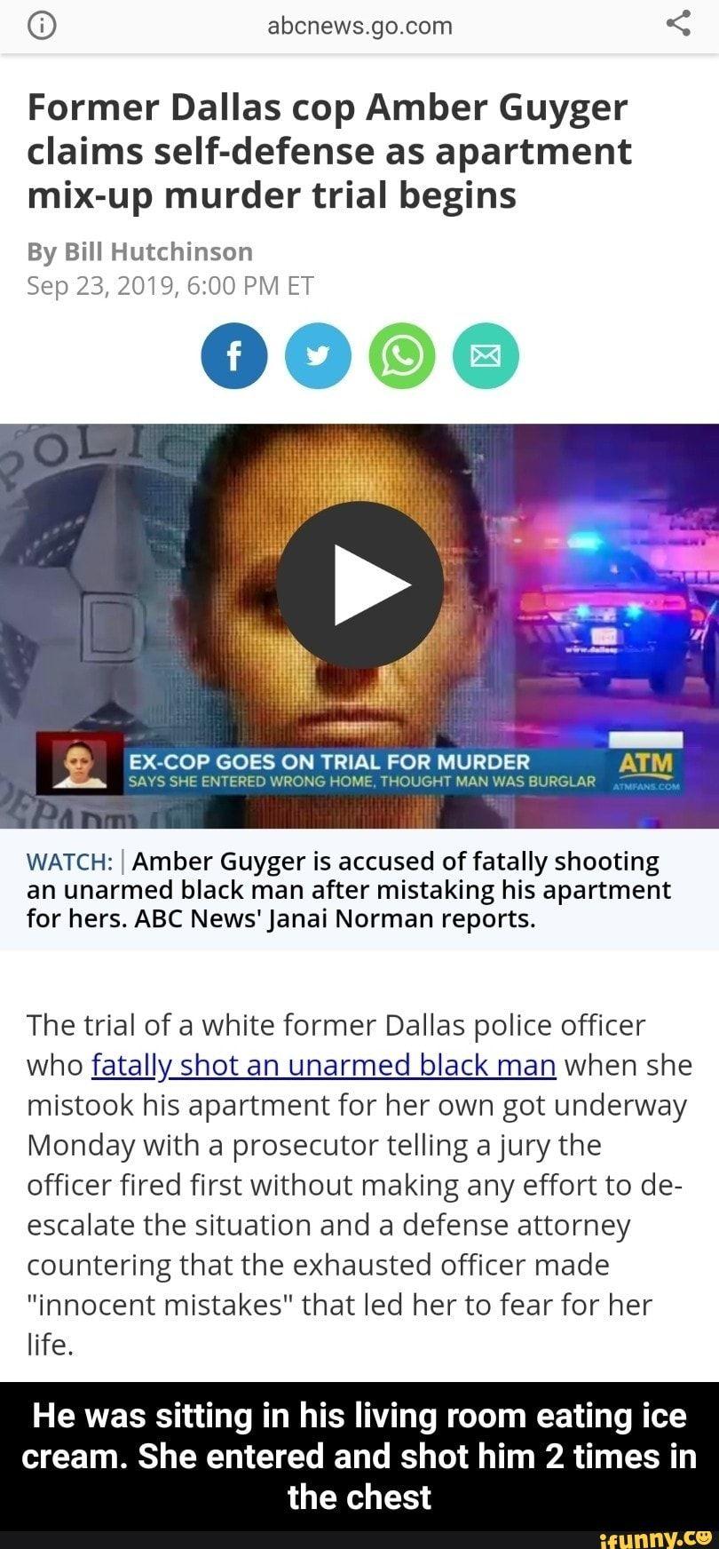 D Abcnews Go Com Memes Self Defense Dallas Police Officers