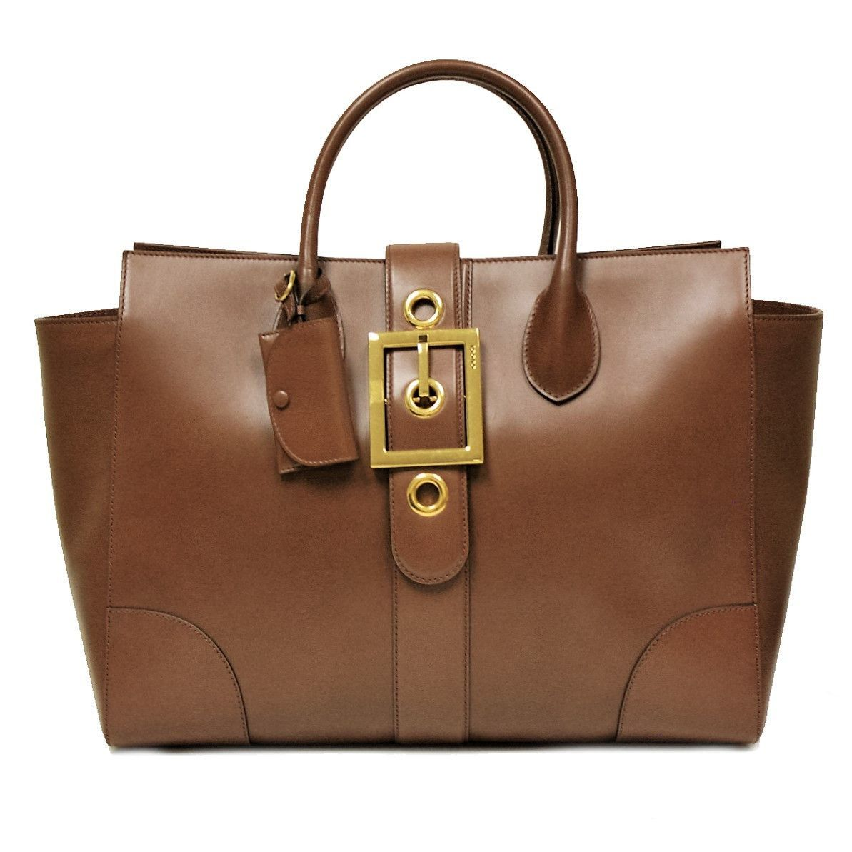 327192831dd Gucci Lady Buckle Large Leather Business Tote Bag