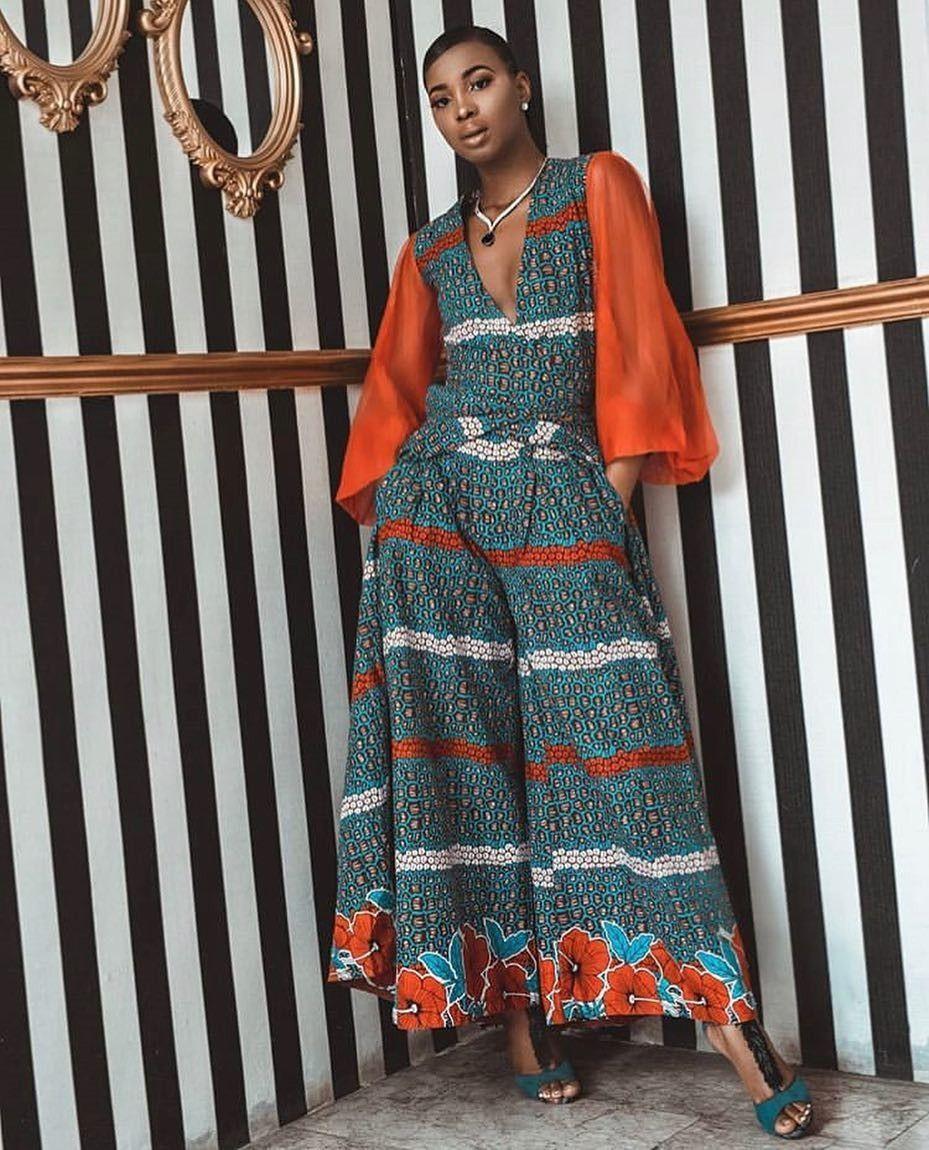 2019 Latest Ankara Styles Ensembles Shorts Combinaissons Shorts