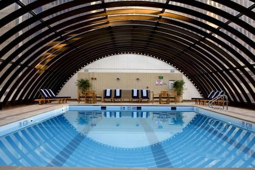 The Westin Peachtree Plaza Atlanta When Business Is Done Relax In Retractable Roof Pool Or Health Club