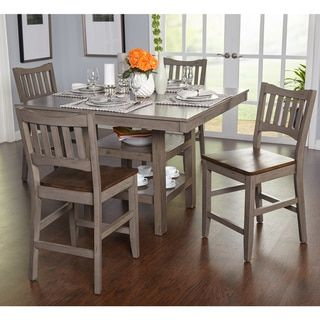Simple Living Simon Counter Height 5 Piece Dining Set Free Shipping Today 19685321 Mobile