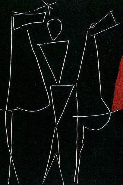 Marino Marini, Cavalli, 1963. Acquaforte a colori