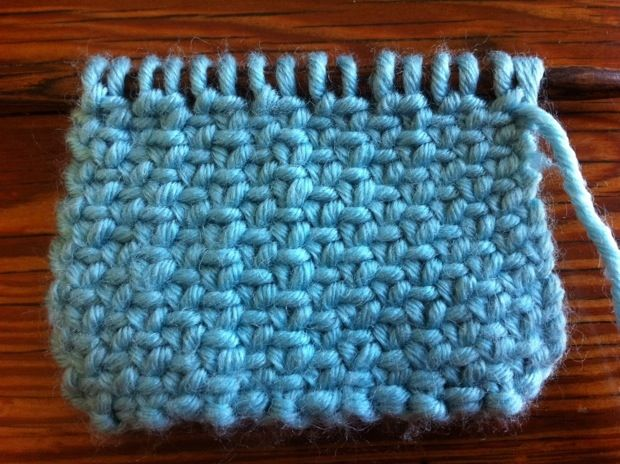 How to Knit the Linen Stitch | (Crafts) Knit 1, Pearl 2 | Pinterest ...