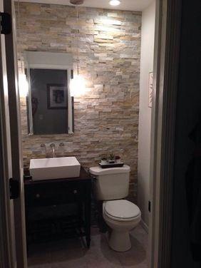 pinmarci diclerico on bathroom ideas   half bathroom