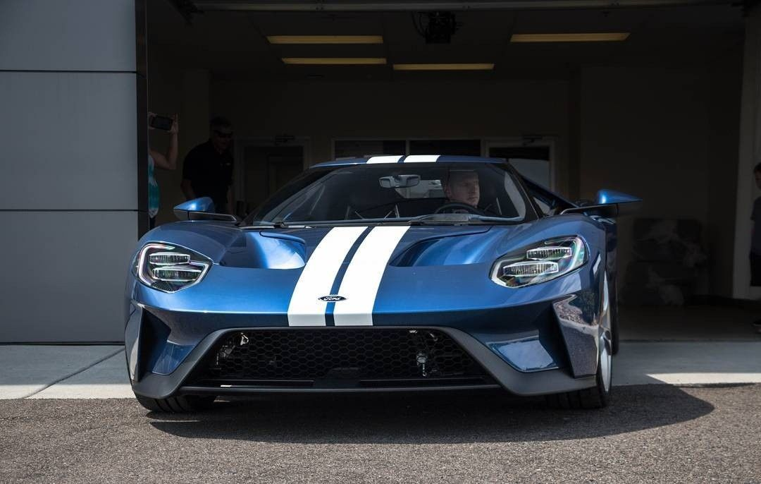 2018 Ford Gt Liquid Blue Ford Gt40 Ford Gt Ford