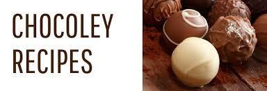 Resultado de imagem para chocolate recipes