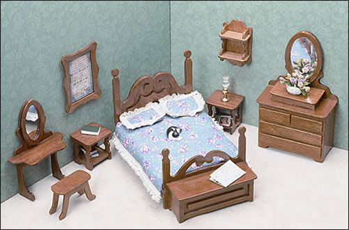 Miniature Furniture Kits By Greenleaf Dollhouses. Visit Greenleaf Dollhouse  For Pictures And Exclusive Web Content!