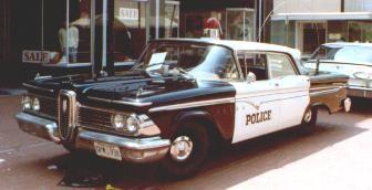 Edsel Police Car Ford Edsel Pinterest Police Cars Cars