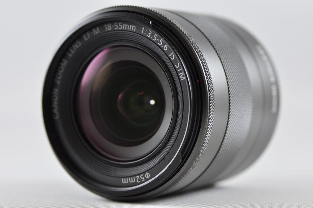 Near Mint Canon Ef M 18 55mm F3 5 5 6 Is Stm Lens For Eos M Series Canon