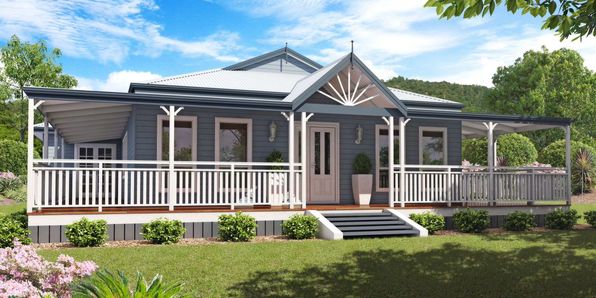 Atherton Queenslander Style Design Floorplan