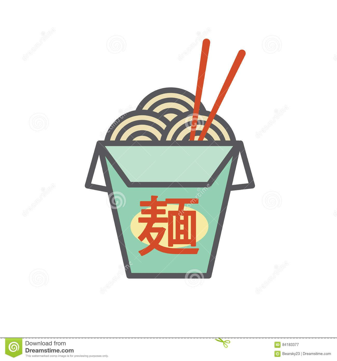 chinese-asian-restaurant-take-out-box-says-noodles-japanese ...