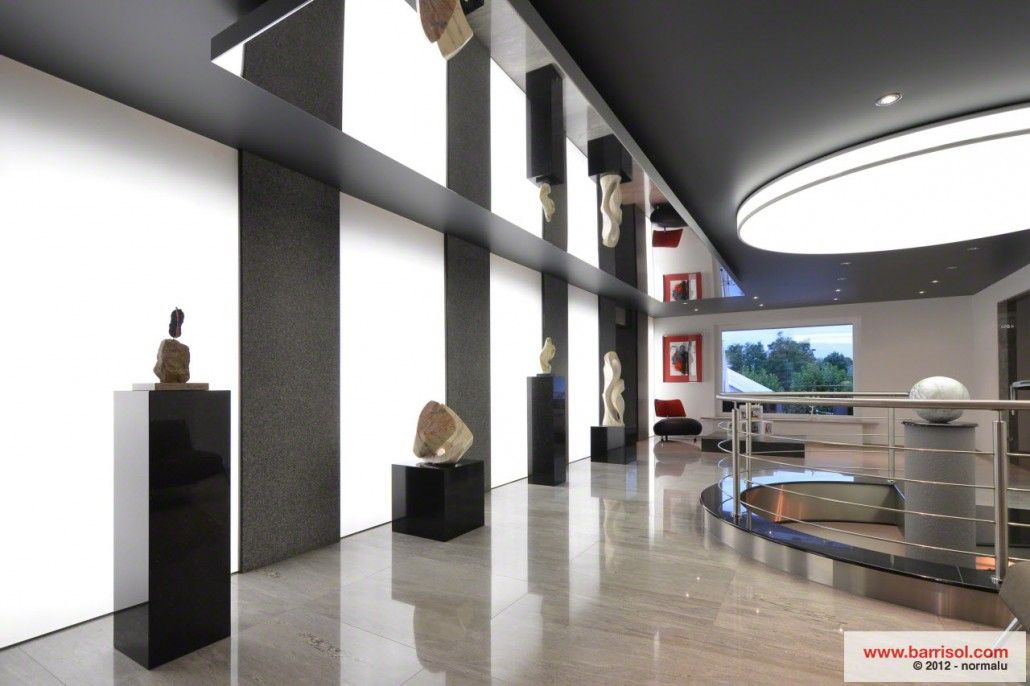 barrisol stretch mirror mirrored surfaces