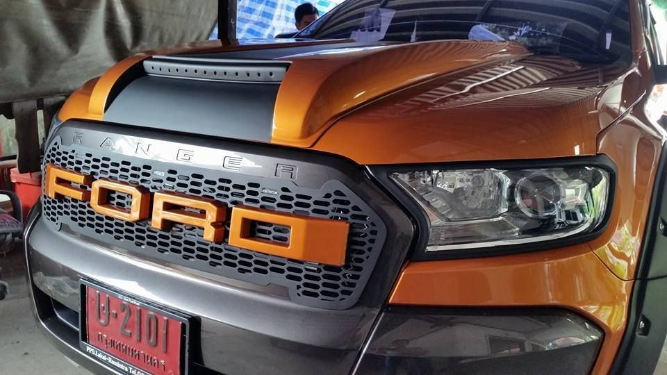 Details About Bonnet Hood Scoop Fit Ford Ranger T6 Mk2 Px2 Xlt