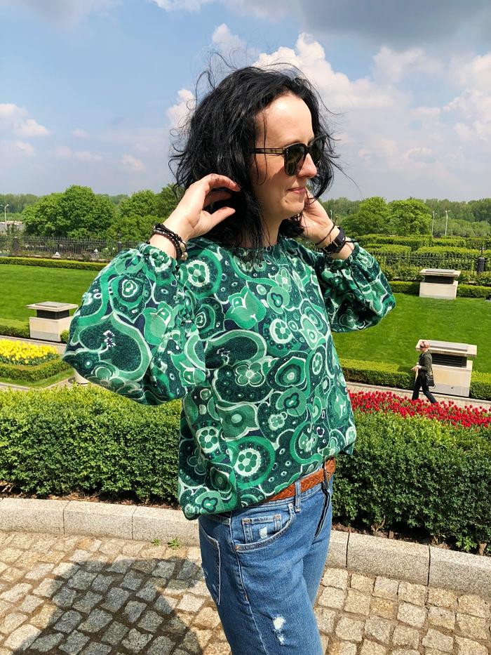Bluzka Uszyta Z Kocham Szycie 01 2019 Model 108 Fashion Burda Patterns Style