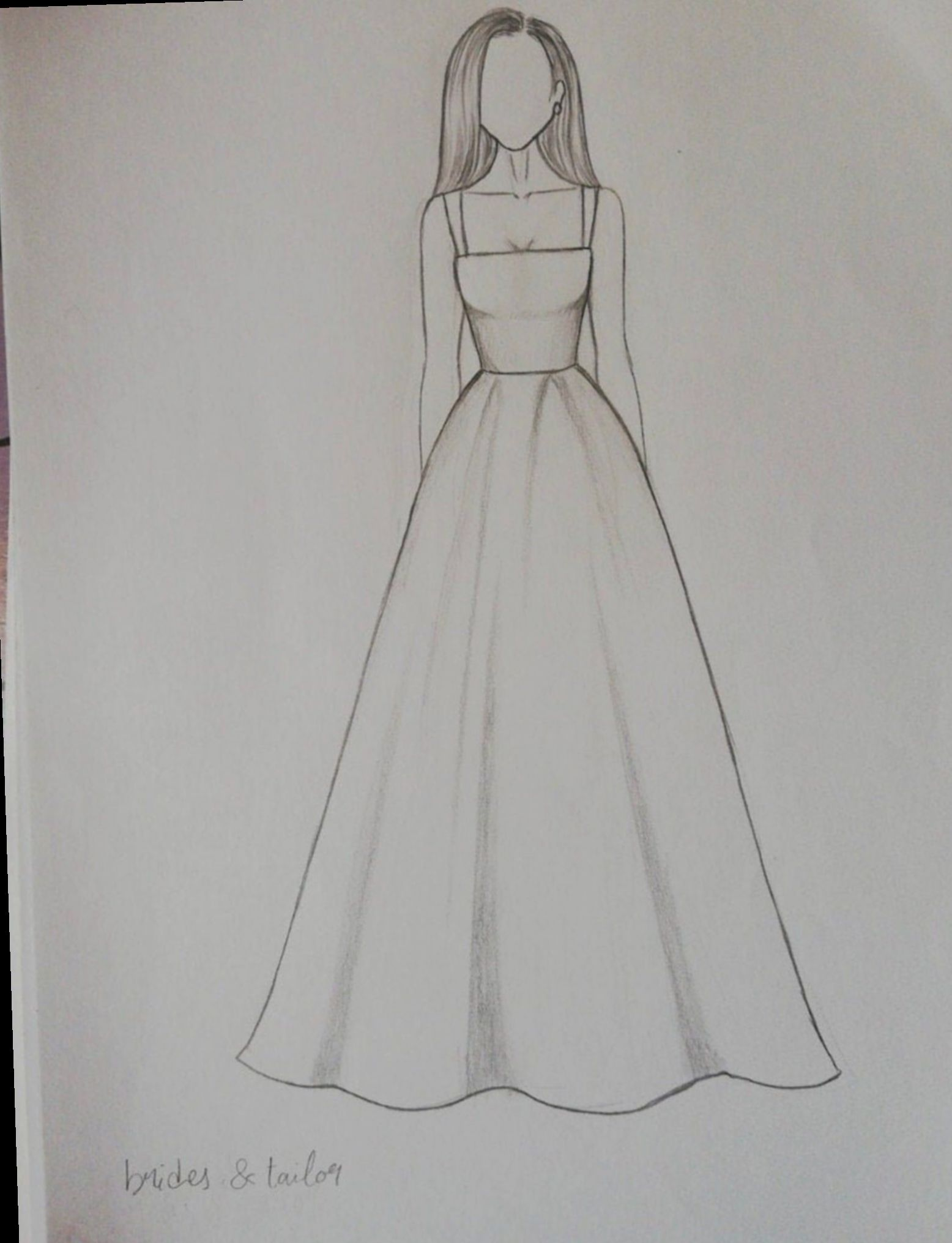 Fashion Drawing Sketches Simple Love Art Nature In 2020 Dress Design Drawing Dress Design Sketches Fashion Drawing Dresses
