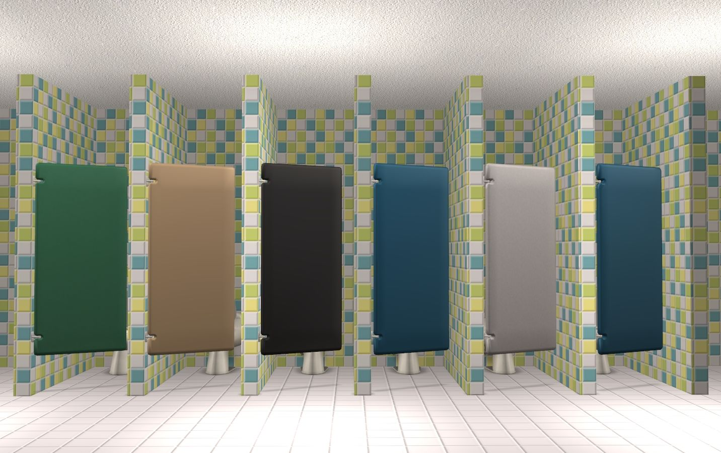 Bathroom Stalls Sims 3 mod the sims - astro stall door | ea recolors and maxis match