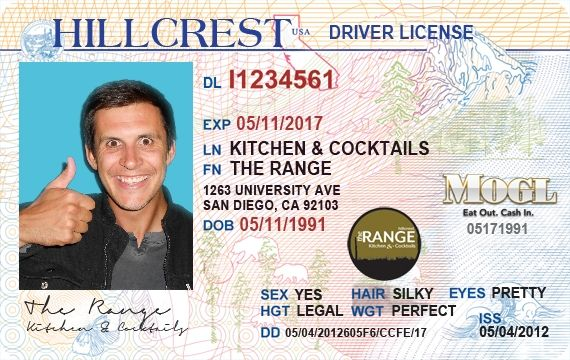 Thumbs up for The Range's new liquor license!