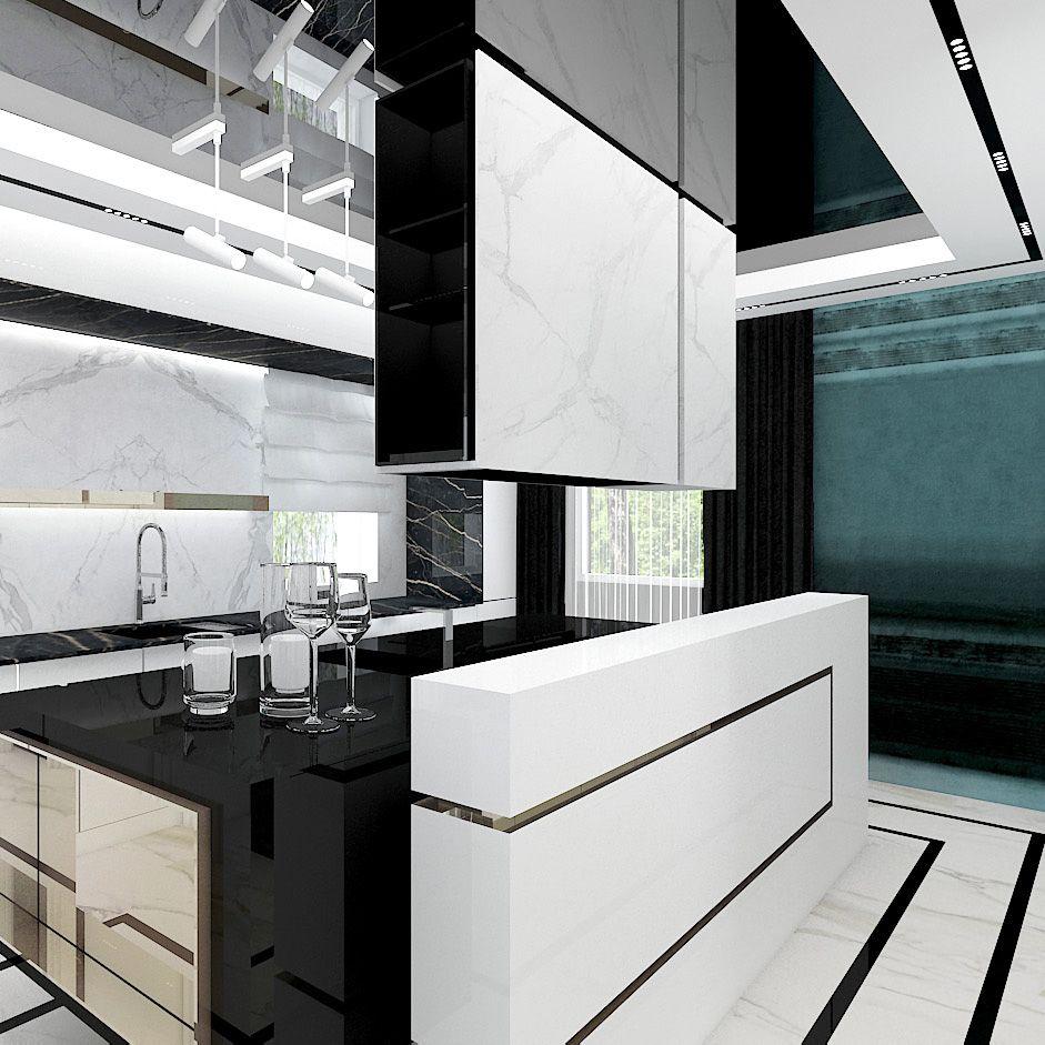 Funkcjonalnie I Kolorowo Make Up Your Mind Wnetrza Domu Modern Kitchen Home Decor Design