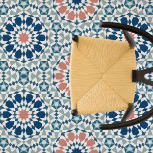 Marrakech Vinyl Flooring Patterned Vinyl Moroccan Pattern