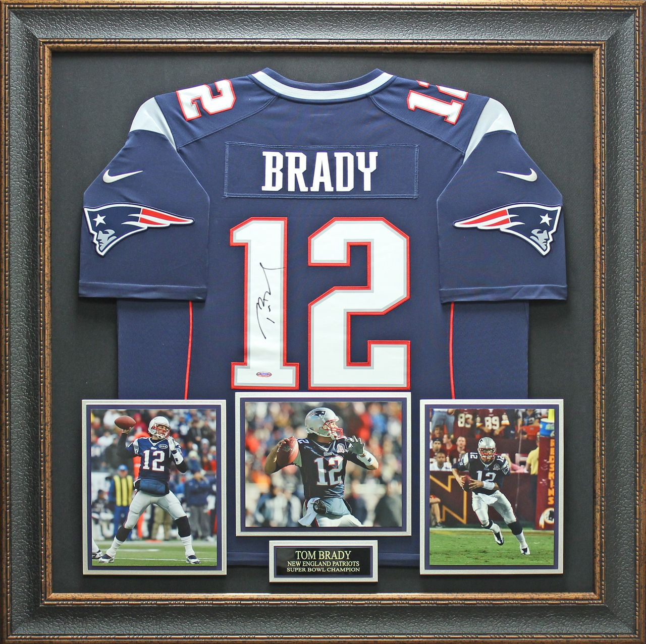 Tom Brady Signed New England Patriots Jersey | Man cave | Man cave ...