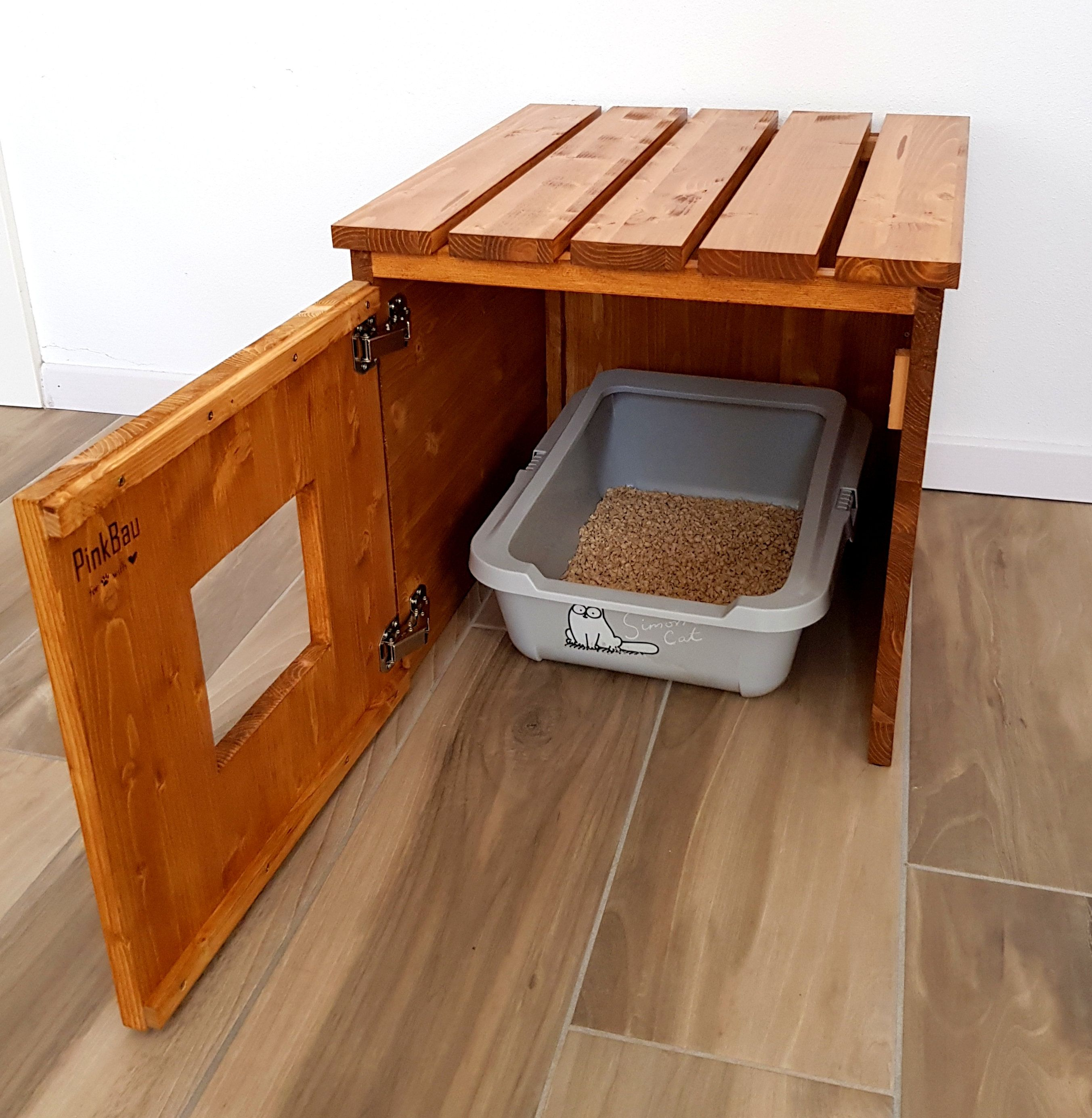 Funda Para Caja Higiénica Cat Cat House Caja De Arena Para Image 7 Muebles Para Mascotas Cajas De Arena Para Gato Baño Para Gatos