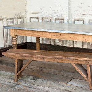 Old Style 5 Foot Pine Bench In 2020 Farmhouse Table With Bench Kitchen Table Bench Rustic Bench