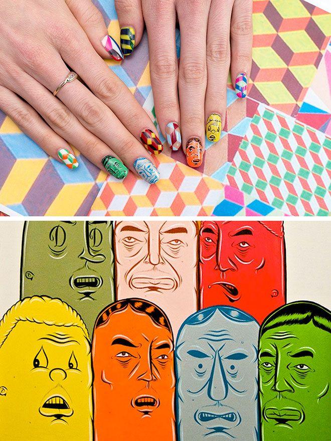 Nail Art History | Art history, Nails inspiration and Mani pedi