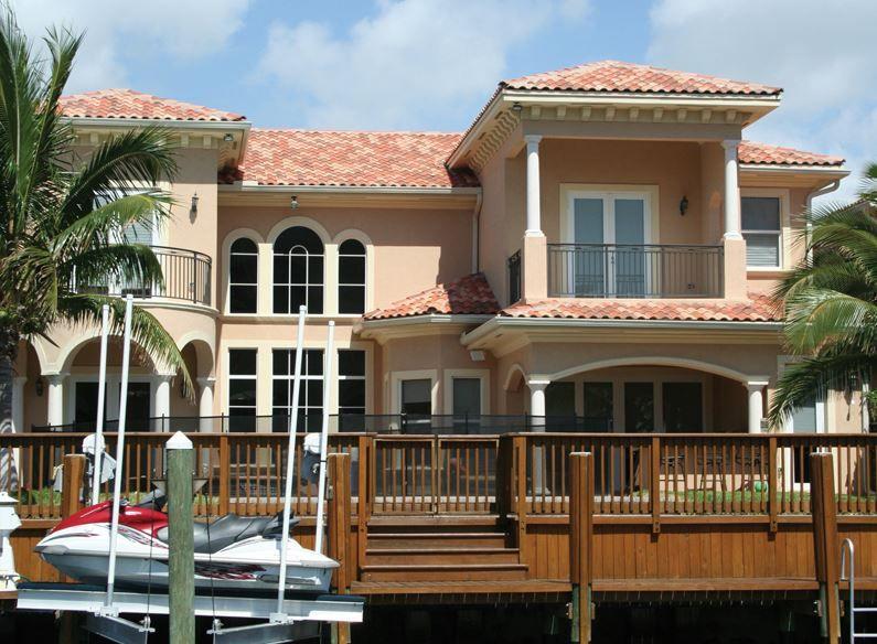 Fachadas de casas con tejas coloniales jadsca for Casas con techo de teja