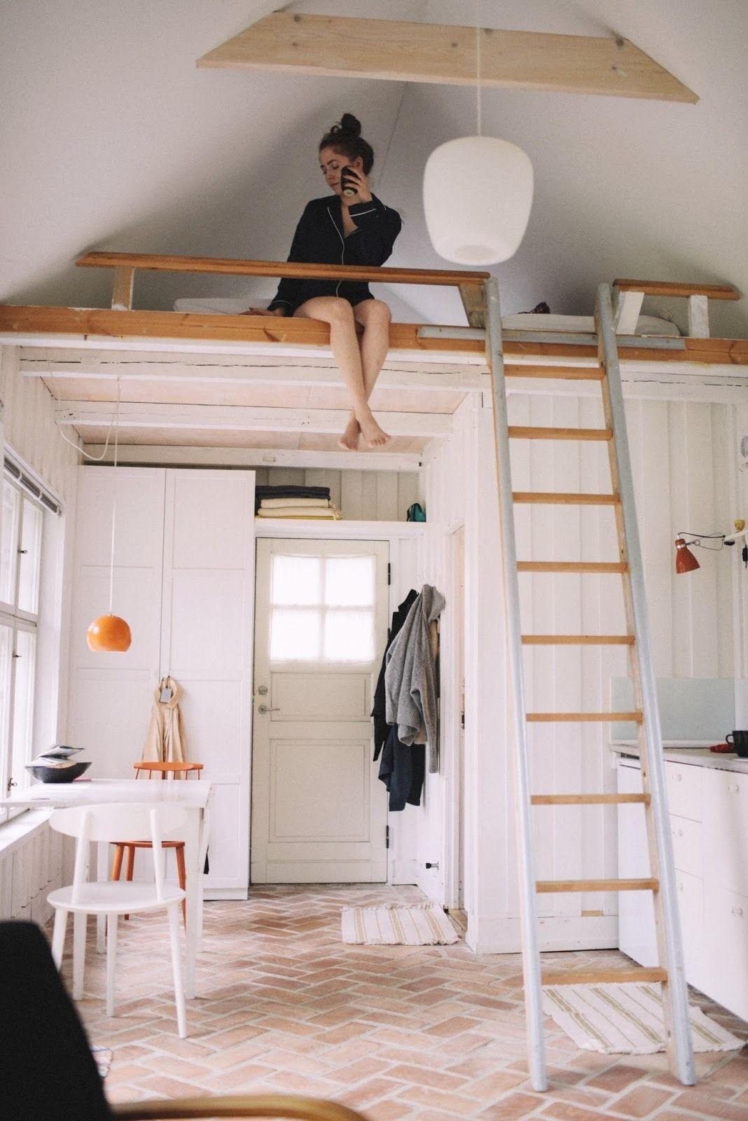 Cozy Duplex Studio Home Coco Lapine Design Room Design Bedroom Loft Beds For Small Rooms Small Room Design Bedroom
