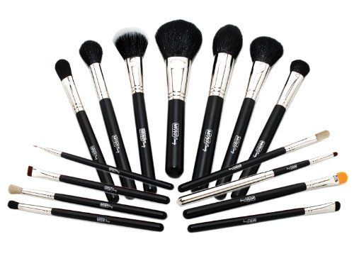 Mojo Beauty Premier 15-Piece Professional Make-up Brush Kit * Read more at the image link.