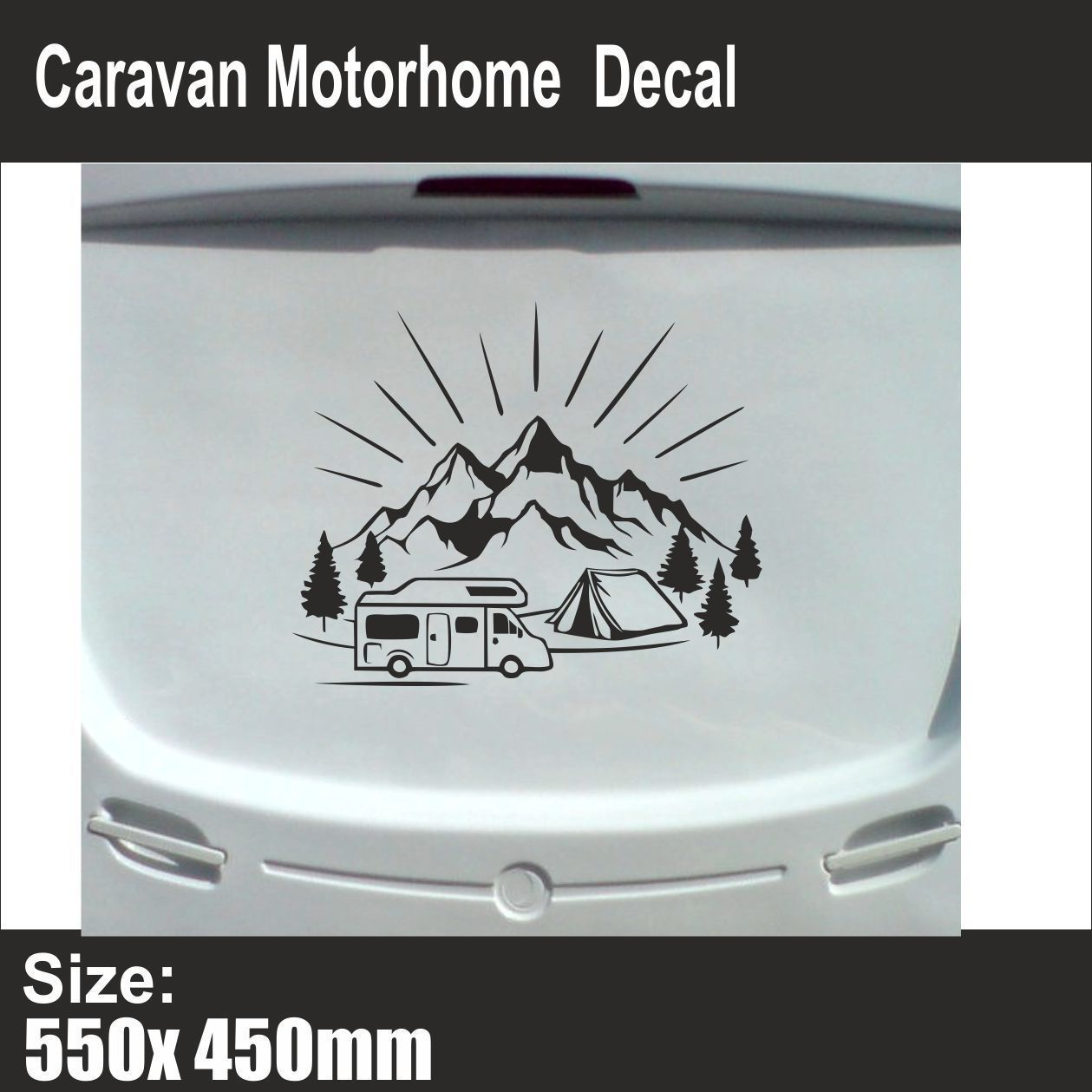 """RV There Yet Decal Sticker JDM Funny Vinyl Car Truck Bumper camping camp 7/"""""""