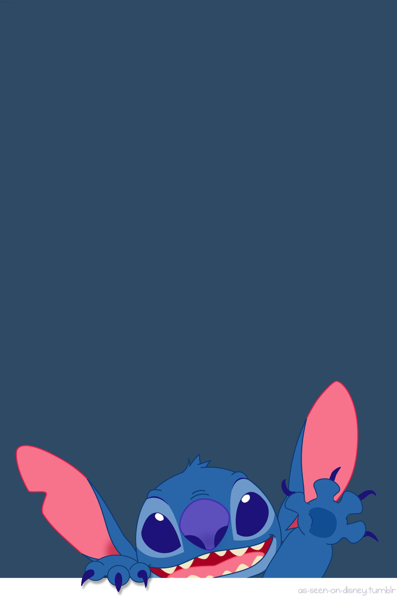 Wallpaper iphone stitch - Disney Wallpaper