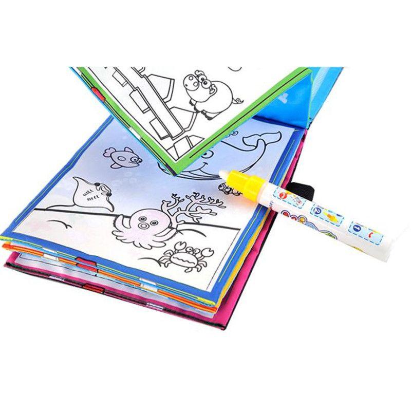 Lustige Magie Wasser Zeichnung Buch Malbuch Doodle Magic Pen Tiere ...