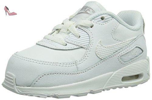 Nike Baby Nike Air Max 90 TD Chaussures  basses mixte bébé blanc