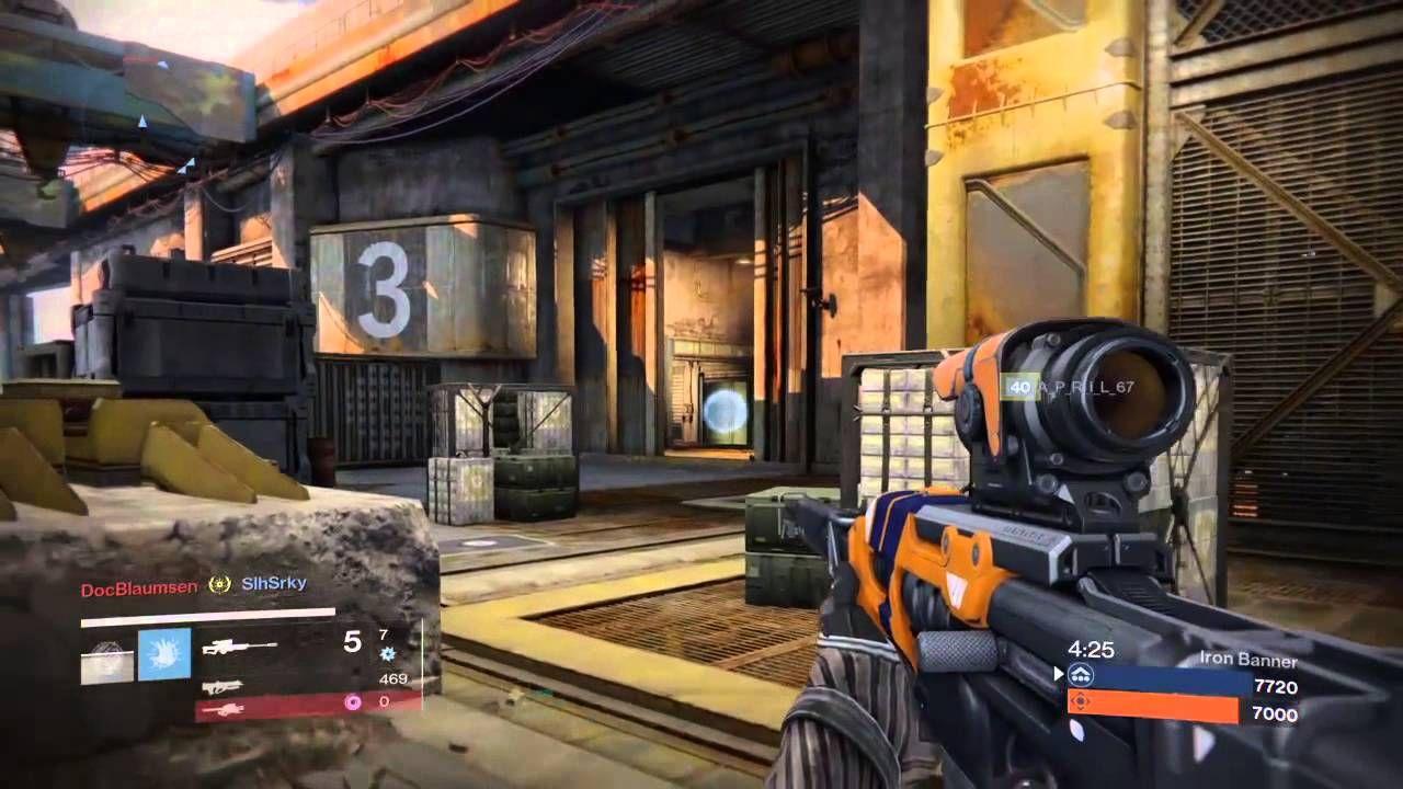 Destiny Crucible Sniping