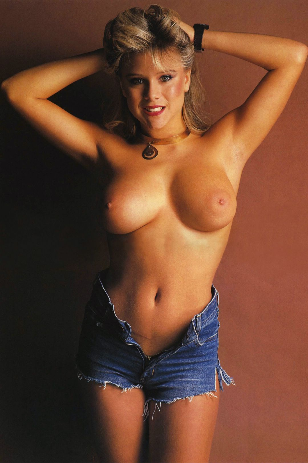 samantha fox topless poster Nude