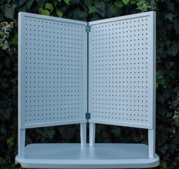 Pegboard Table Top Display | Pacific Woodworking, Supplies Equipment    Displays